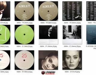 黑胶收藏系列之Soul:Adele 2008-2015 LP [24/96] (6LP/4.5G) Flac/百度
