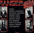 芬兰激流:Ranger - Speed & Violence 2016 Flac/百度