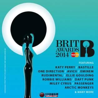《The BRIT Awards 2014》iTunes Plus AAC/全英音乐奖提名歌曲精选