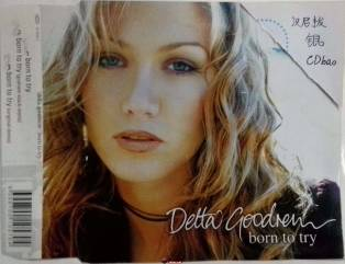 澳洲天后Delta Goodrem《Born To Try》欧版3曲 单曲  WAV/原抓分轨