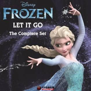 "《Let It Go the Complete Set (From ""Frozen"")》冰雪奇缘主题曲 多国语言版本合辑 ..."