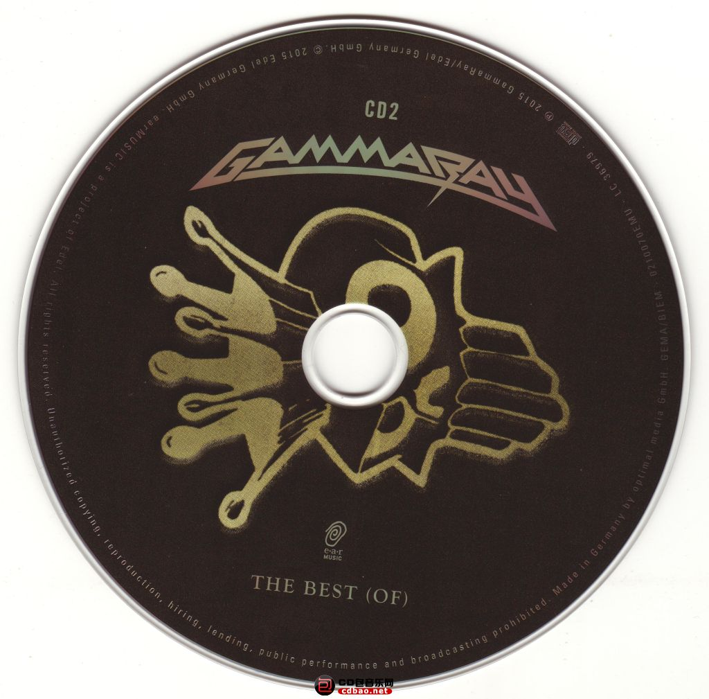 Gamma Ray - The Best Of (digi Pack) - Cd 2.jpg