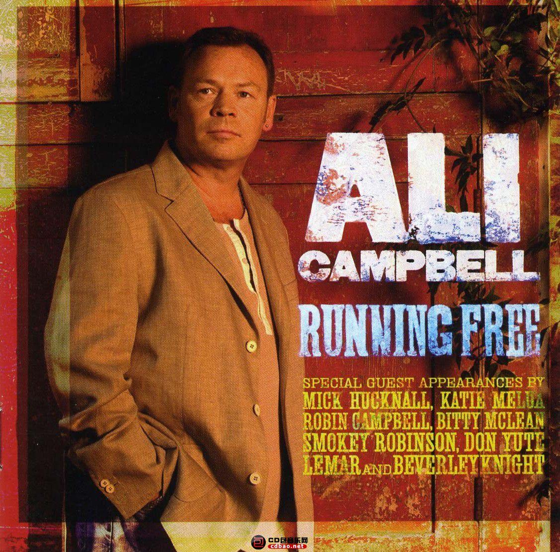 Ali Campbell - Running Free - Front.jpg
