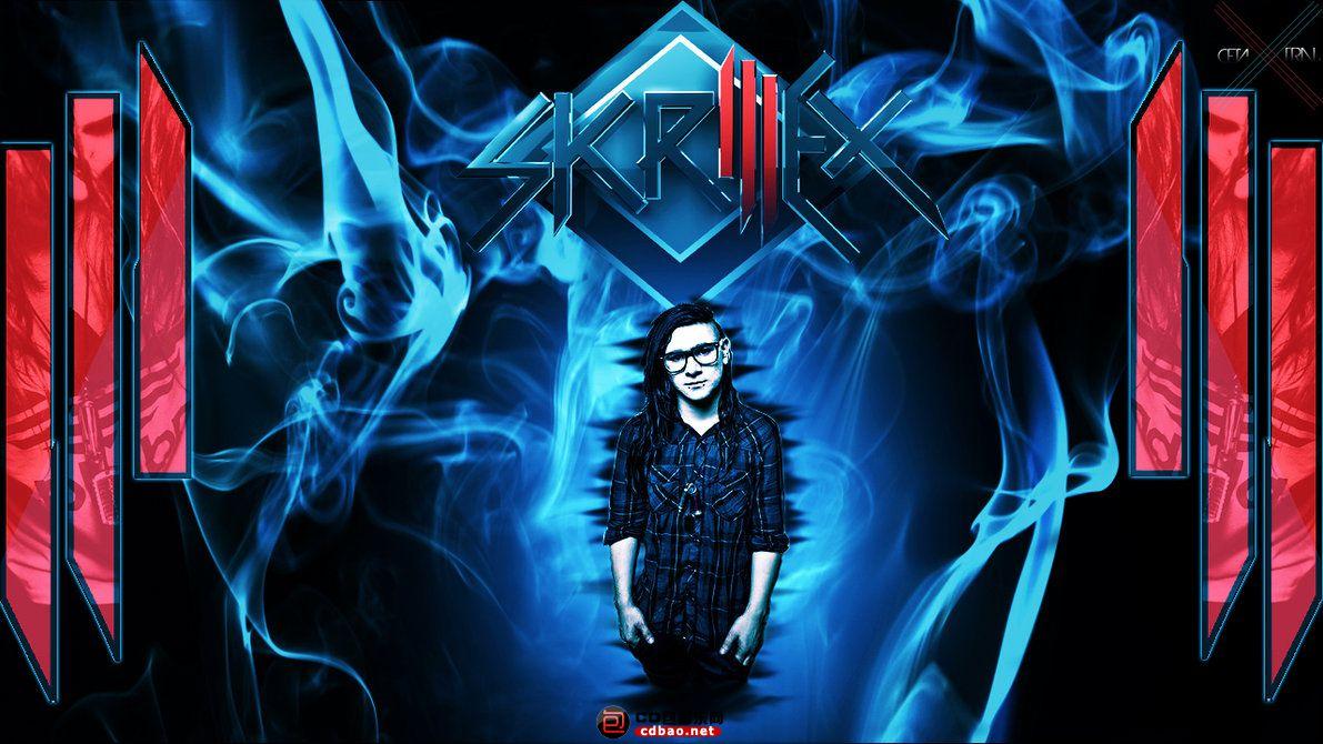Skrillex Blue HD Wallpaper.jpg