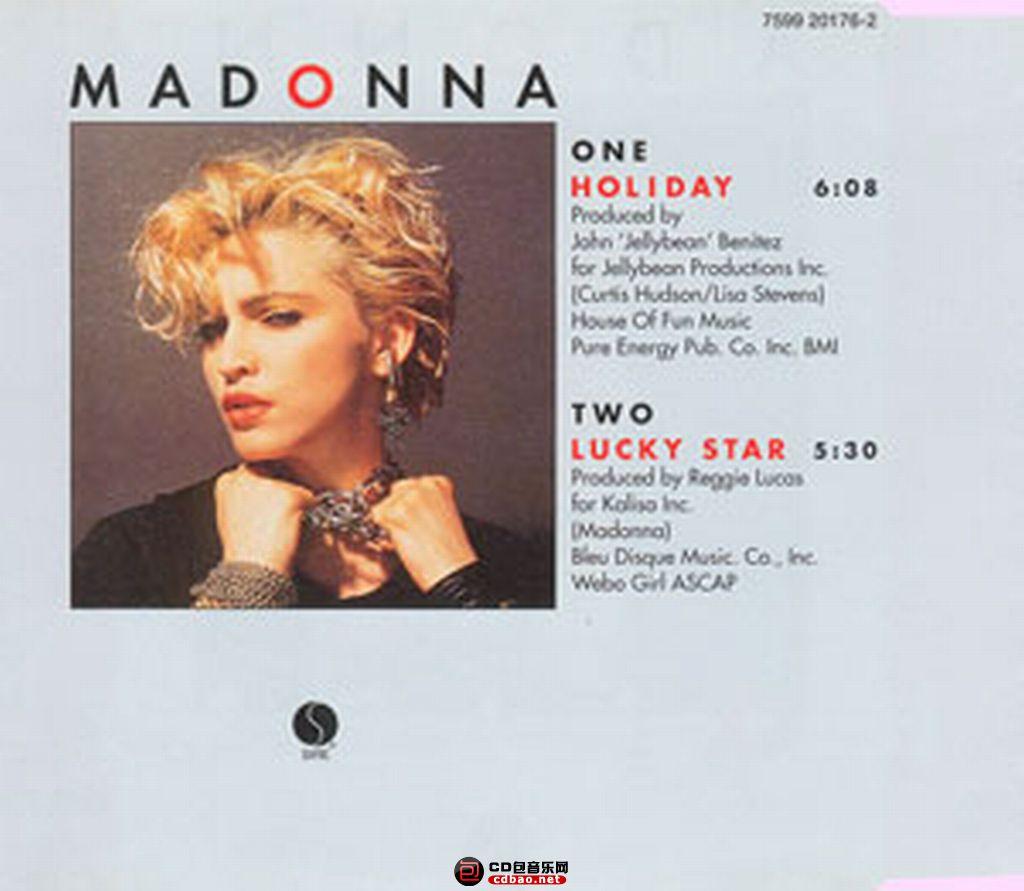 Madonna - Holliday 封底.jpg