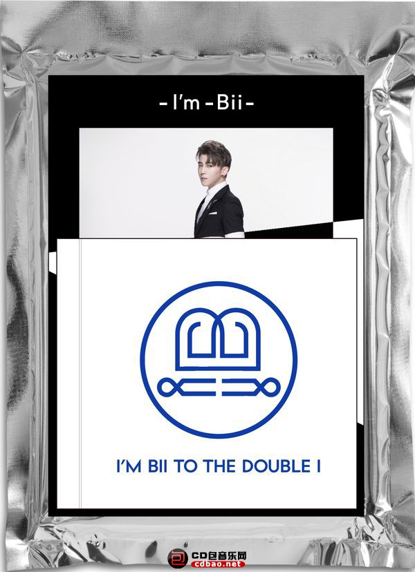 毕书尽《I'M Bii TO THE DOUBLE i》封面.jpg