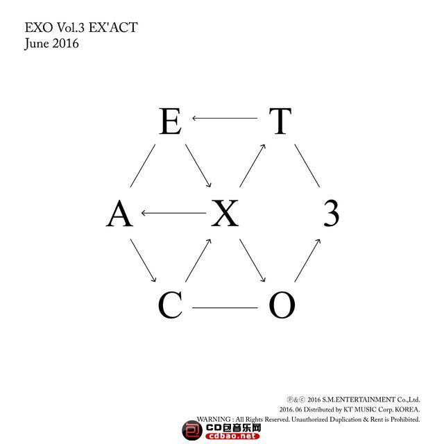 EX'ACT (韩文版) – The 3rd Album.jpg