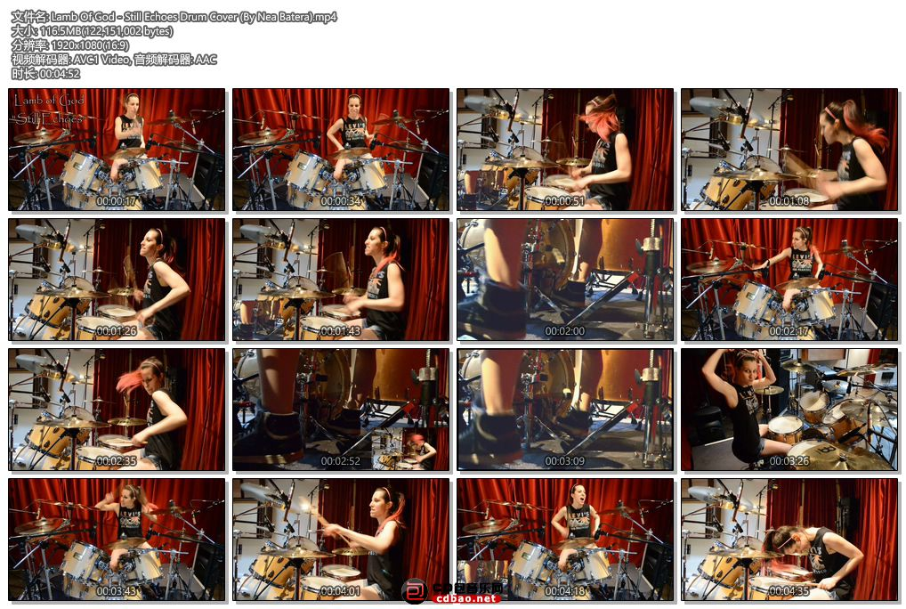 01 Lamb Of God - Still Echoes Drum Cover (By Nea Batera).jpg