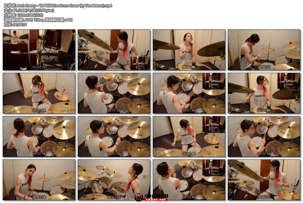 Arch Enemy - We Will Rise Drum Cover (By Nea Batera).jpg