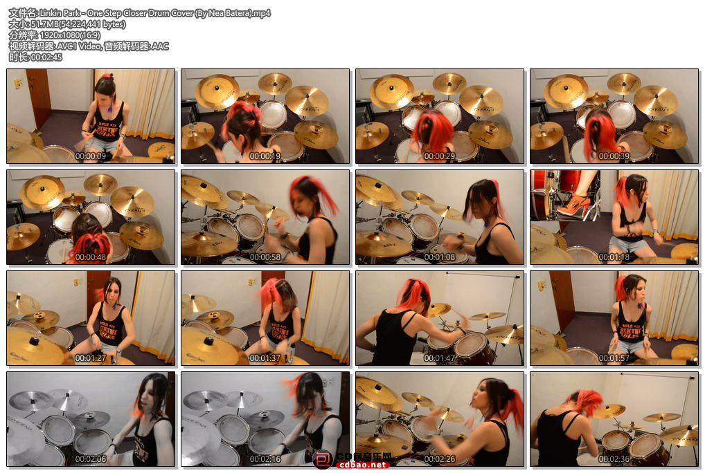 Linkin Park - One Step Closer Drum Cover (By Nea Batera).jpg