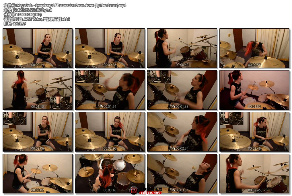 Megadeth - Symphony Of Destruction Drum Cover (By Nea Batera).jpg