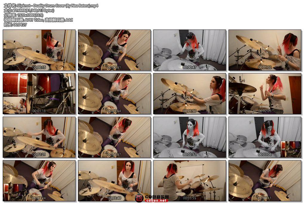 Slipknot - Duality Drum Cover (By Nea Batera).jpg