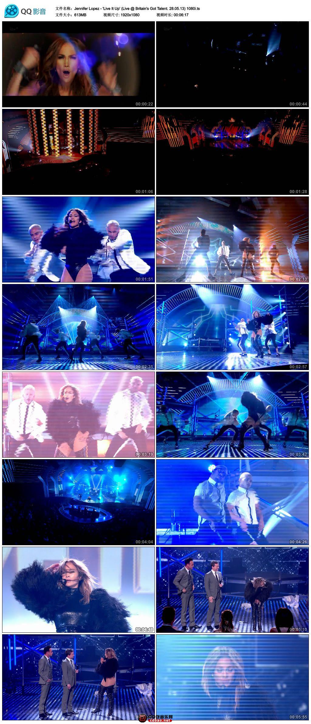 Jennifer Lopez - 'Live It Up' (Live @ Britain's Got Talent. 28.05.jpg