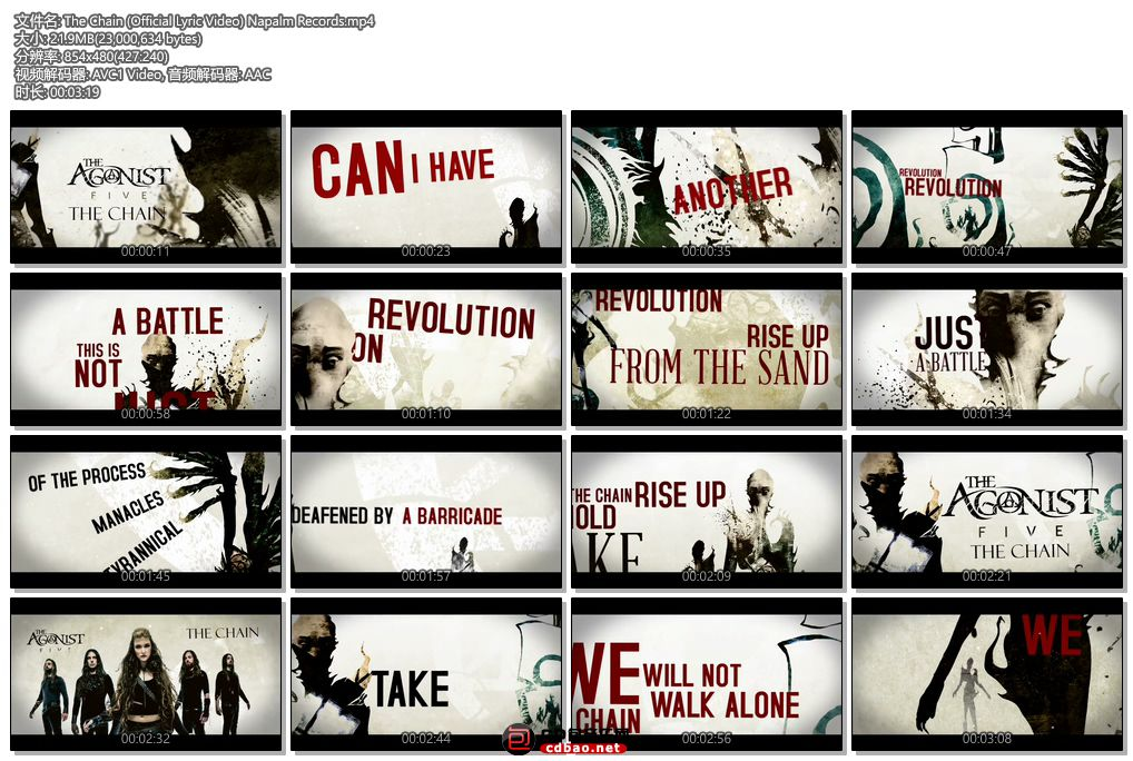 The Chain (Official Lyric Video) Napalm Records.jpg