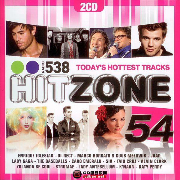 VA - Radio 538 - Hitzone 54 - 2010 cover.jpg