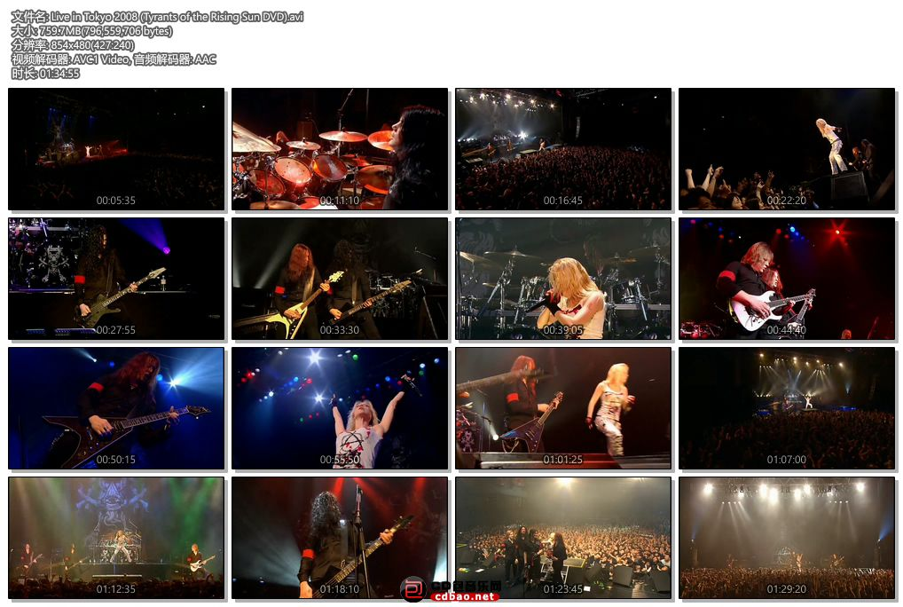Live in Tokyo 2008 (Tyrants of the Rising Sun DVD).jpg