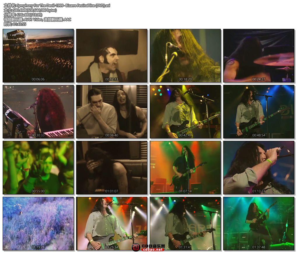 Symphony For The Devil-1999- Bizarre Festival live (DVD).jpg