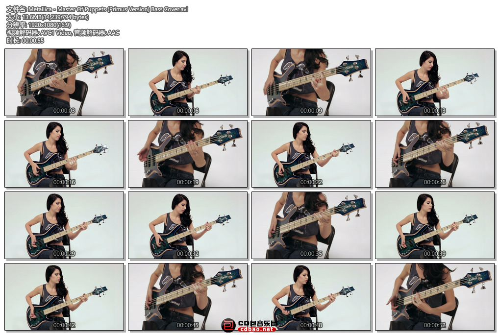 Master Of Puppets (Primus Version) Bass Cover.jpg