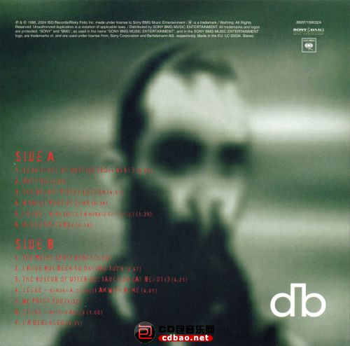 Disc 1-2 (Excerpts From Outside) Back.jpg