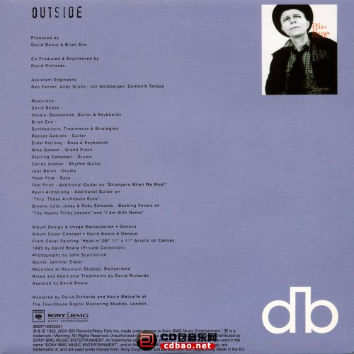 Disc 1-2 (Excerpts From Outside) Disc 1 Sleeve Back.jpg