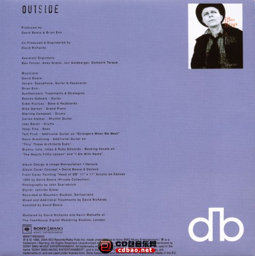 Disc 1-2 (Excerpts From Outside) Disc 2 Sleeve Back.jpg