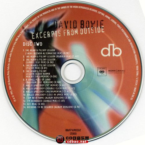 Disc 1-2 (Excerpts From Outside) Disc 2.jpg