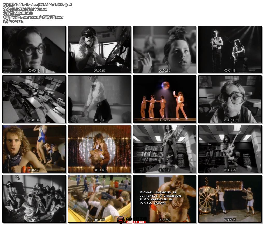 Hot For Teacher (Official Music Video).jpg
