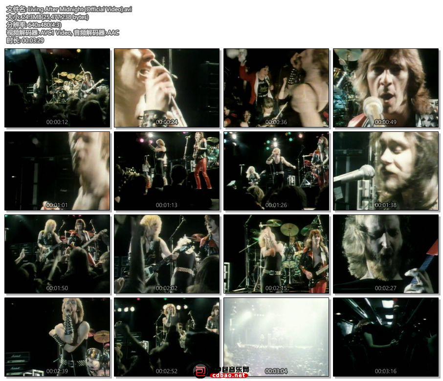 Living After Midnight (Official Video).jpg