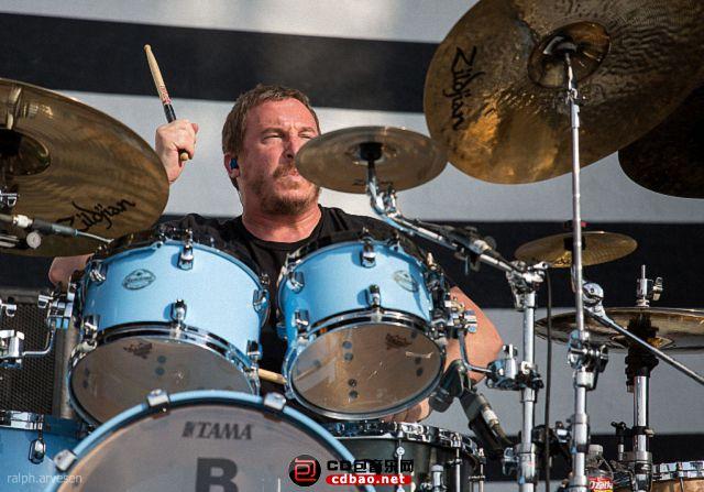Abe Cunningham – drums (1988–1990, 1993–present).jpg