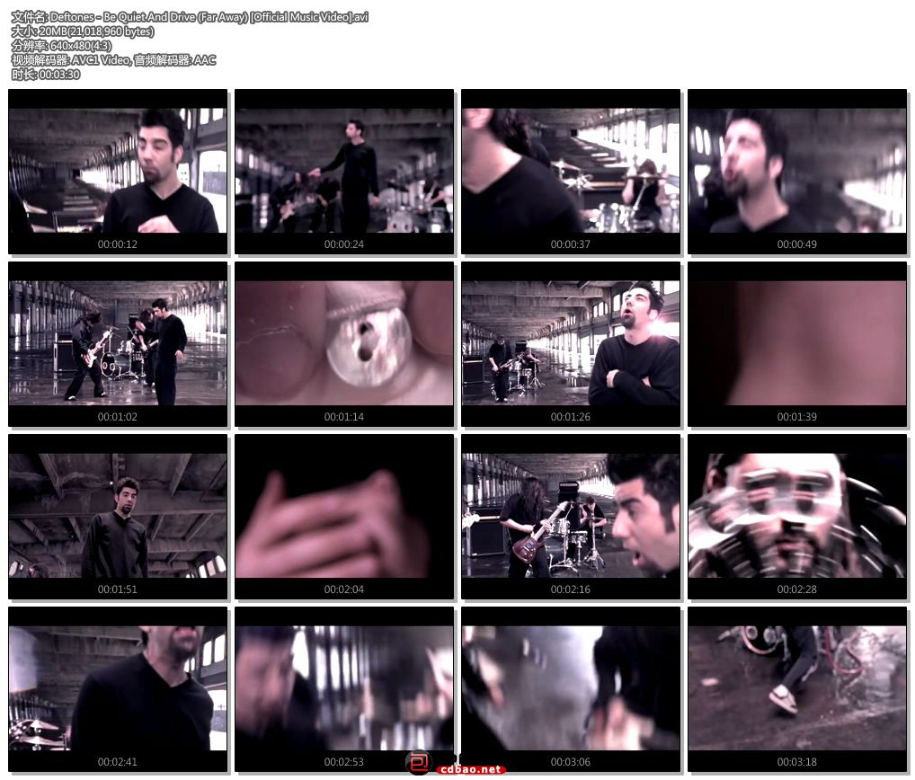 Deftones - Be Quiet And Drive (Far Away) [Official Music Video].jpg
