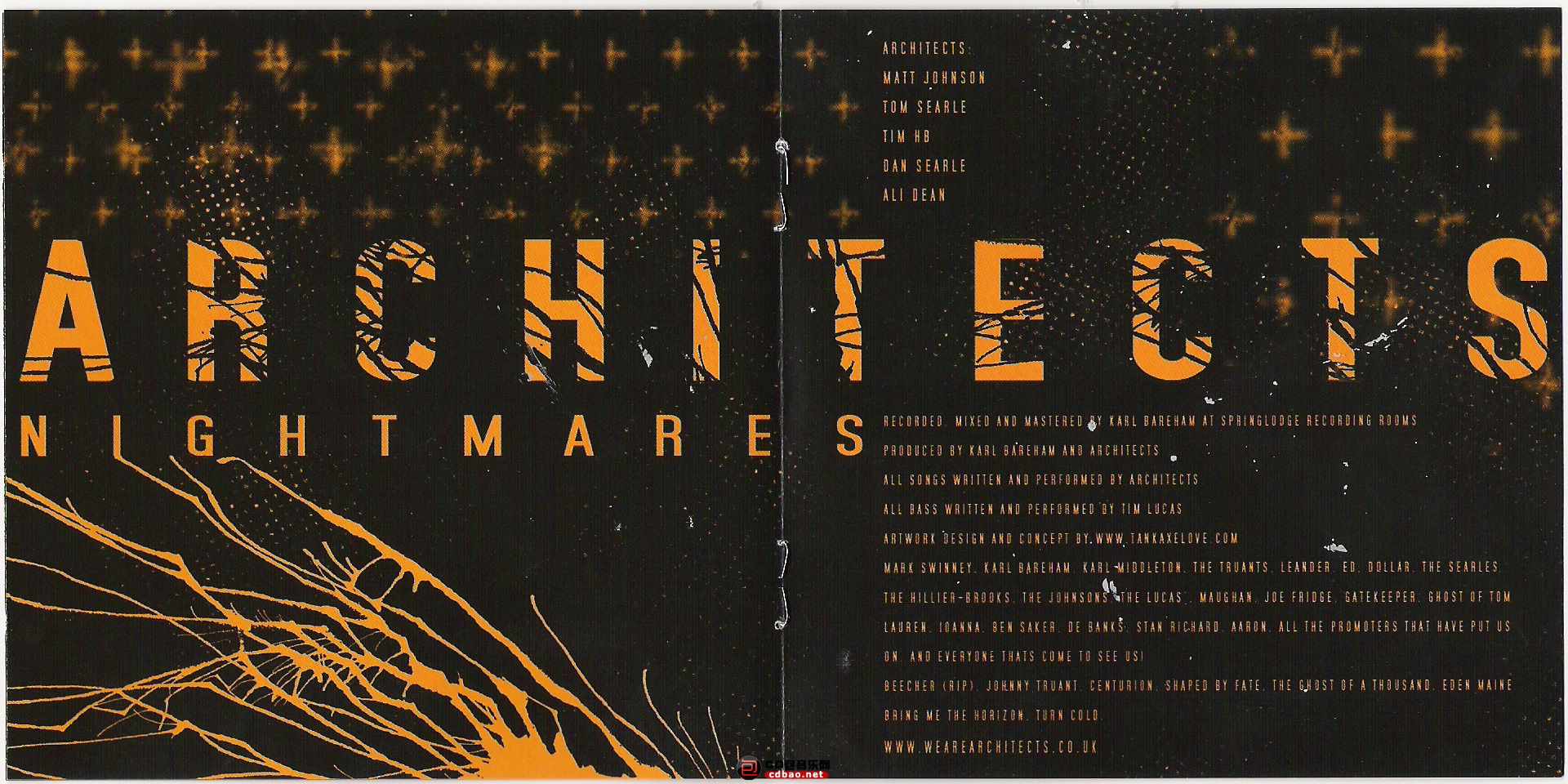 Architects - Nightmares - Booklet.jpg