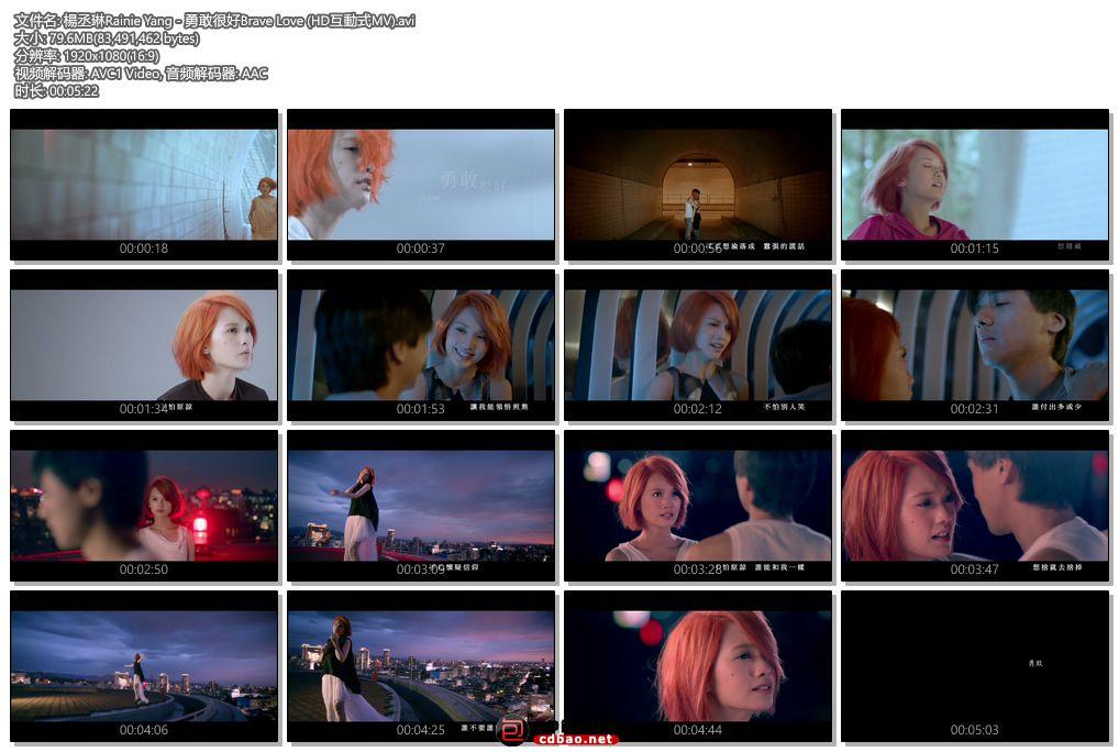 楊丞琳Rainie Yang - 勇敢很好Brave Love (HD互動式MV).jpg