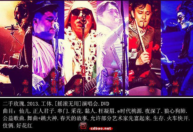 二手玫瑰.2013.工体.[摇滚无用]演唱会.曲目.jpg