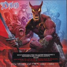 原抓:DIO《Ten years of DIO :1983-1993 Box Set》6CD 2016 /WAV整...