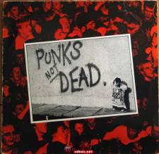 (应求)朋克:The Exploited《Punk's Not Dead》(SEC 1 Pressing-NM Cond) 1981