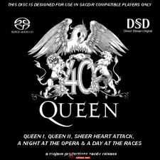 Queen 《 18张SACD 》+(波西米亚狂想曲) SACD/ISO/百度